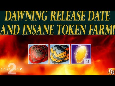 Destiny 2: Dawning Release Date, Insane Token and Masterwork Farm, Fated Engrams!