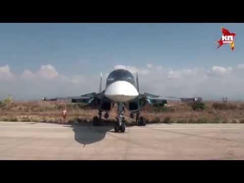 Вежливые летчики: воздушна� кару�ель над Сирией