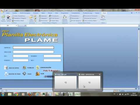 Parte 1 - Planillas electronicas en Excel (Plame).mp4
