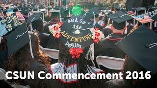 CSUN Commencement 2016: Social & Behavioral Sciences II
