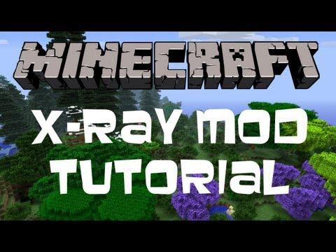 Minecraft 1.6.4 || X-RAY Mod (Tutorial + Download)