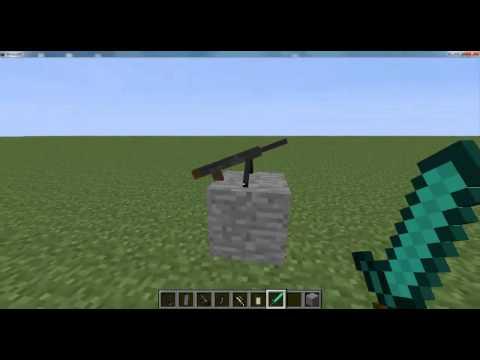 .minecraft 1.5.2 con mods instalados (Flan's mod con armas de Black ops 2 MW3 & mas)