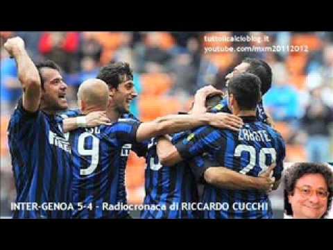 INTER-GENOA 5-4 – Radiocronaca di Riccardo Cucchi (1/4/2012) da Tutto il calcio minuto per minuto