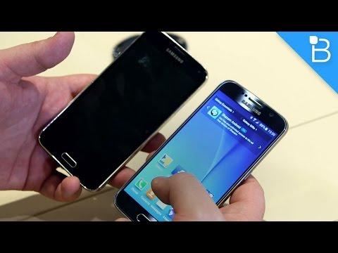 Samsung Galaxy S6 vs Galaxy S5