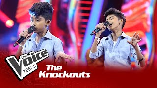 Pathum Salinda | Ma Handawala Knockouts | The Voice Teens Sri Lanka