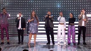 The X Factor UK 2018 Finalists ABBA Tribute Live Semi-Finals Night 1 Full Clip S15E25