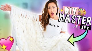 DIY MASTER EP 2: Chunky Knit Blanket!