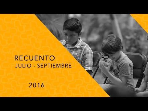 Video Recuento Julio - Septiembre 2016 | La HCM