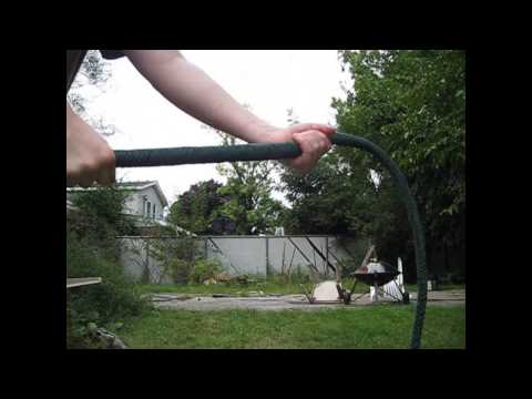 The Overkill Bullwhip (homemade paracord bullwhip)