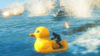 When You Bring An Attack Duck To A Naval Battle in Just Cause 4
