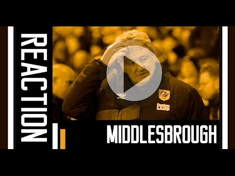 Middlesbrough v The Tigers | Reaction With Steve Bruce | 18th March 2016