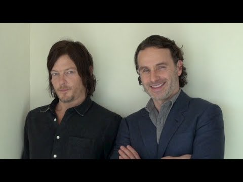 "Interview with stars of ""The Walking Dead,""  Andrew Lincoln and Norman Reedus"