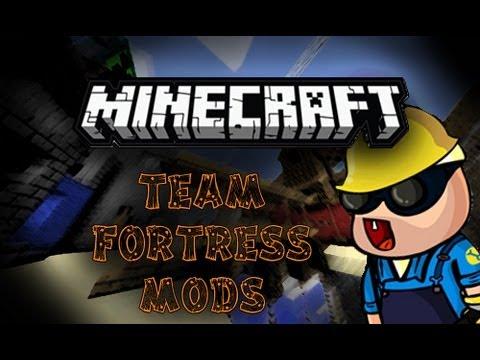 Minecraft: Mod Review #1 ( Team Fortress 2 Mods! )