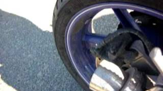 Honda CBR 600 F3 exhaust sound dominator moto GP db killer out