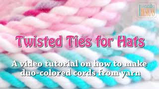 Twisted Ties for Hats