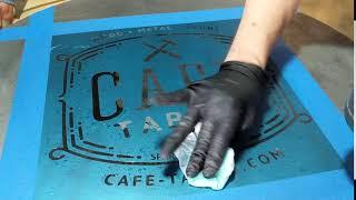 Zinc Patina - Cafe Tables