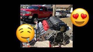 Texas Speed and I cam another LS engine! Sierra is broken!!