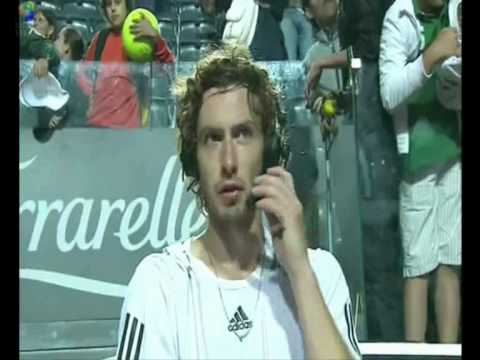 Funny Ernests Gulbis interviews Video