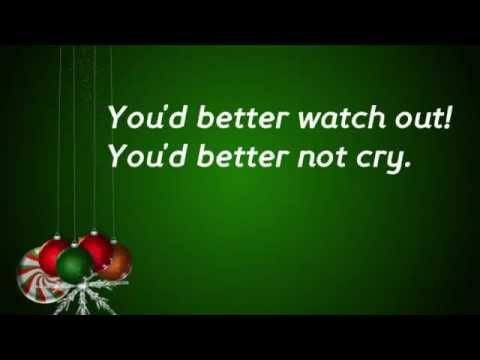 Santa Claus is coming to town (Lyrics - Children version)