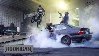 [HOONIGAN] DT 010: $350 BMW Burnouts and BMX Jam. EXTREME!