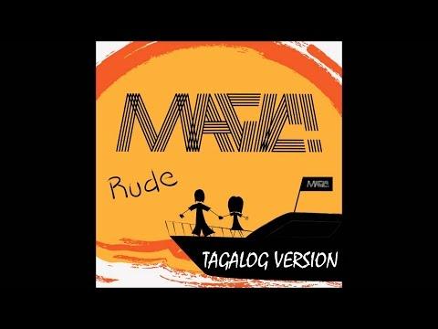 MAGIC! - Rude (Tagalog Version by Ryoko Terashima) Lyric Video