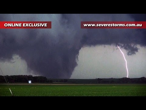 Storm Chase & Spotting - Pilger Nebraska Tornado - 16th June 2014