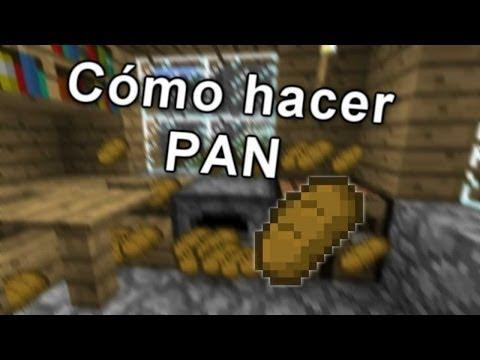 Como hacer pan Minecraft TUTORIALES EPICOS