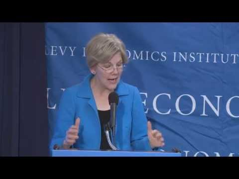 Senator Elizabeth Warren: The Unfinished Business of Financial Reform