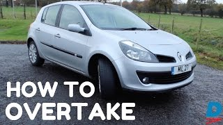 How To Overtake   Quick Tips For Awesome Driving!