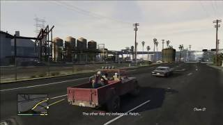"Grand Theft Auto V (GTA 5) Walkthrough Part 46: Scouting the Port 1/2 ""PS3 Gameplay"" (HD)"