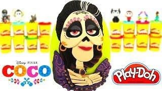 Huevo Sorpresa Gigante de Imelda de Coco de Play Doh
