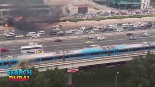 Sheikh Zayed Road Crane Crash and Dubai Metro Sparks