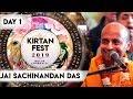 Kirtan Fest 2019 | Day 1 Kirtan | Jai Sachinandan Das | ISKCON Chowpatty