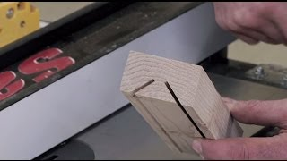 How To Make a V-Block on the Table Saw  |  Woodworkers Guild of America