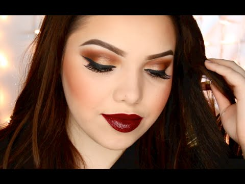 Thanksgiving Makeup Tutorial | All Drugstore - YouTube