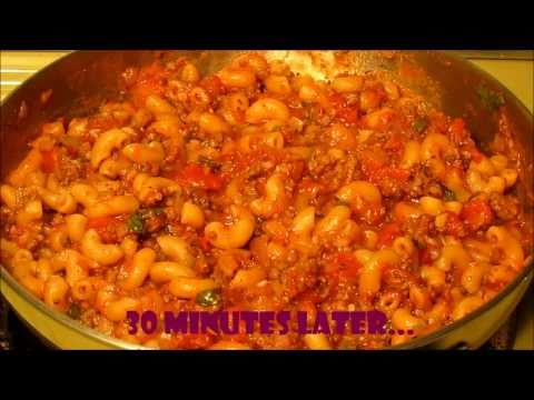 Beef Macaroni – Easy One Pot Recipe