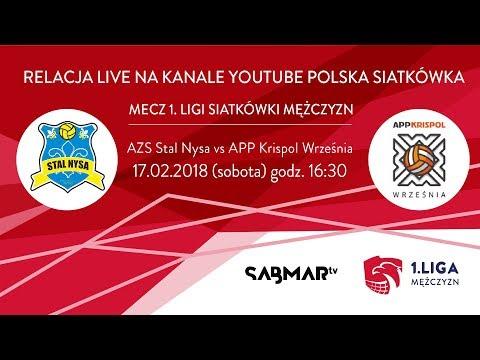I Liga Siatkówki AZS Stal Nysa - APP KRISPOL Września