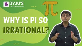 Why is pi so irrational?