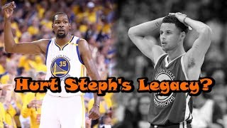 Did Kevin Durant DAMAGE Steph Curry