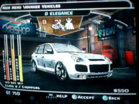 midnight club 3 [tuning meus carros]