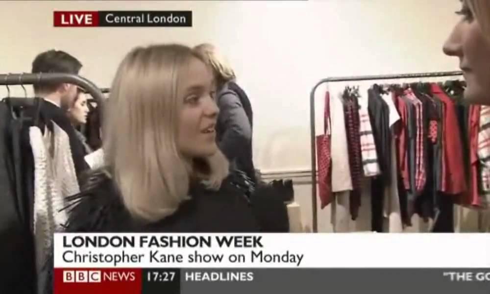 Henrik Lindberg - London Fashion Week - YouTube