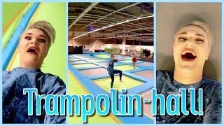 BÄSTA TRAMPOLINHALLEN!!!   Vlogg
