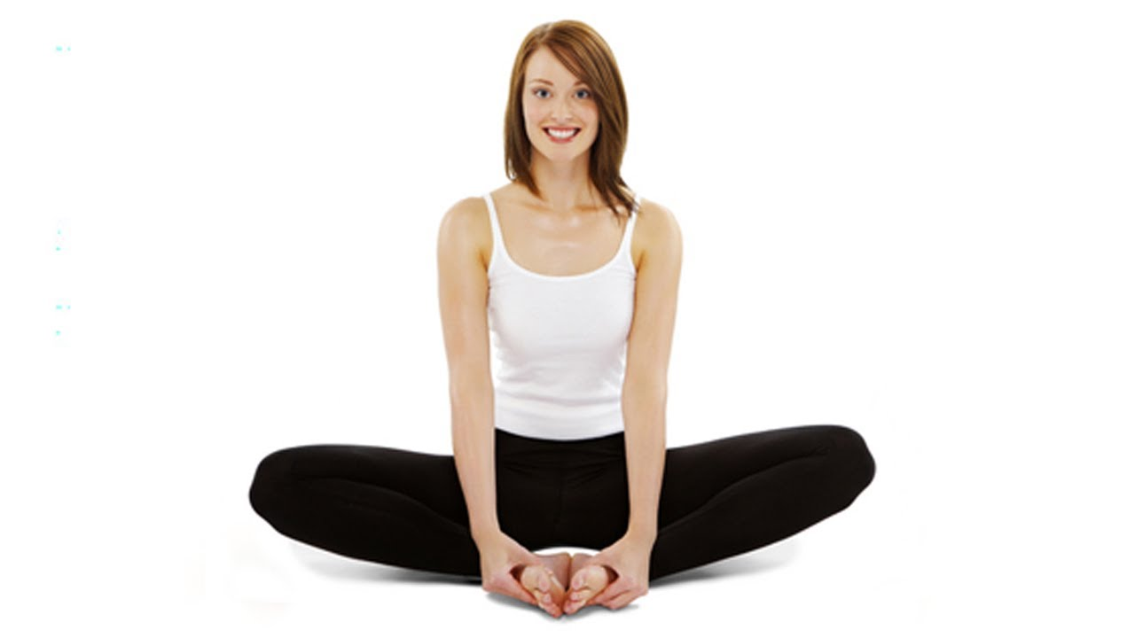 Titliasana Butterfly Pose Yoga For Women Exercise For