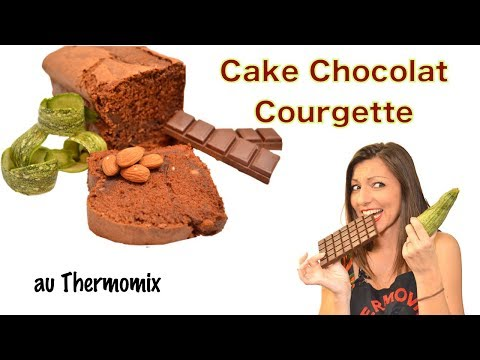 CAKE CHOCOLAT COURGETTE, recette au Thermomix.