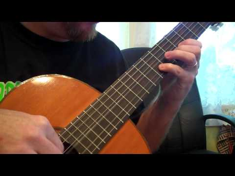 Angry Birds Theme (melody) - Classical Guitar