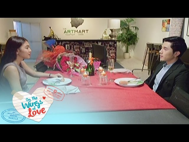 On The Wings Of Love: Leah & Simon's Dinner date