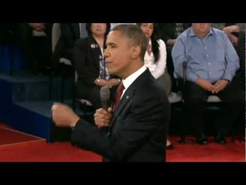 Highlights: Barack Obama and Mitt Romney's second presidential debate