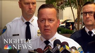 Baltimore Officer Shot Dead As City Battles Rising Murder Rate | NBC Nightly News