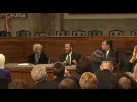 Sen. Ted Cruz Speaks with Elie Wiesel About Stopping a Nuclear Iran