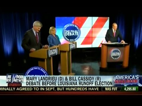 Mary Landrieu (D) & Bill Cassidy (R) Debate Before Louisiana Runoff Election - America's newsroom